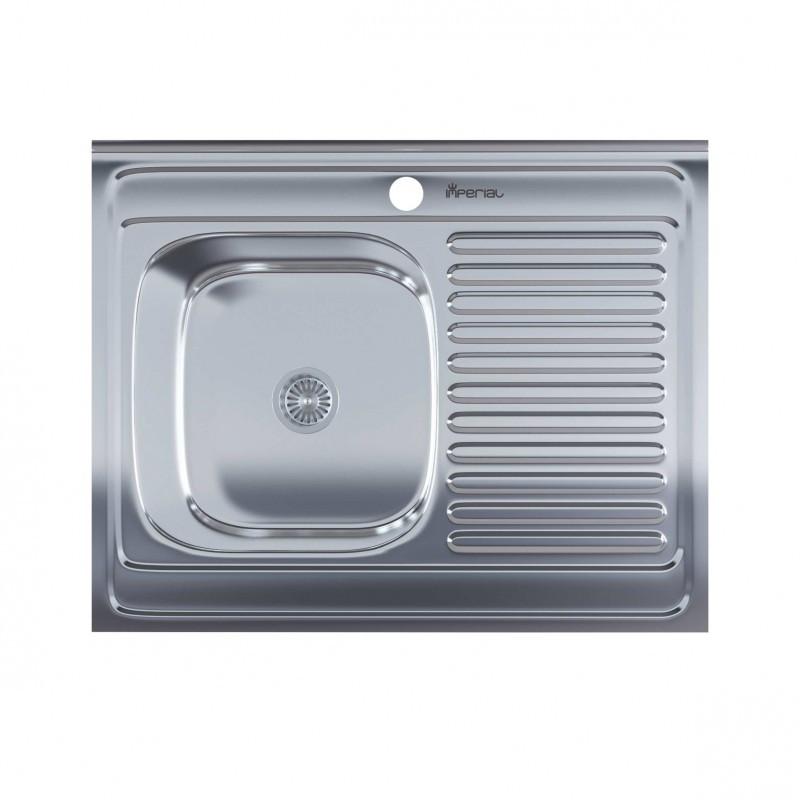 Кухонная мойка нержавейка Imperial 5080-L Polish