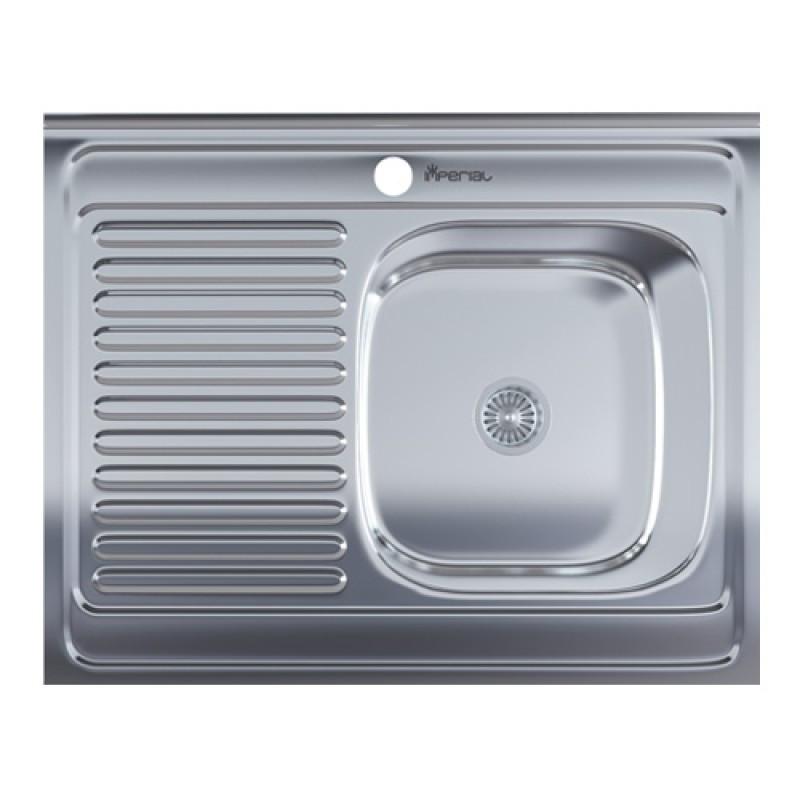 Кухонная мойка нержавейка Imperial 6080-R Polish