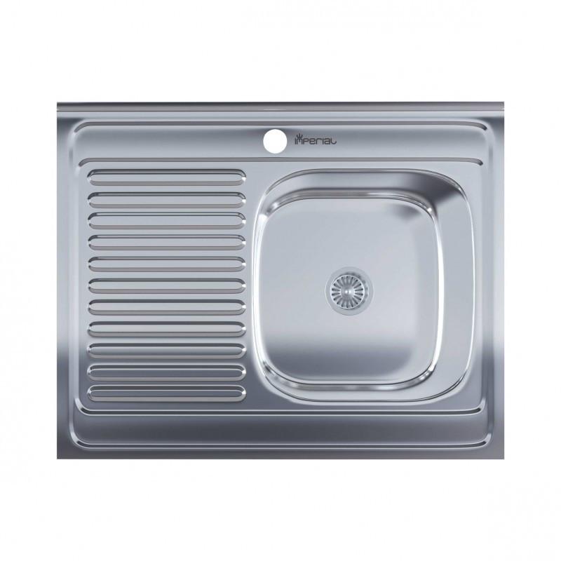 Кухонная мойка нержавейка Imperial 5080-R Polish