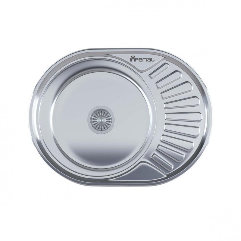Кухонная мойка нержавейка Imperial 6044  Satin