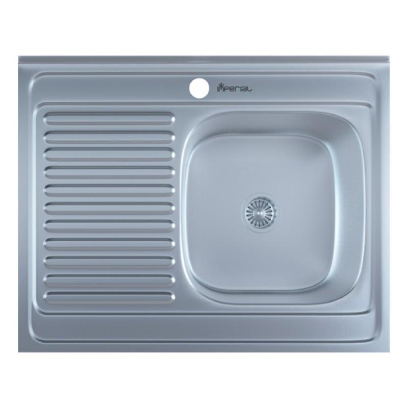 Кухонная мойка нержавейка Imperial 6080-R Satin