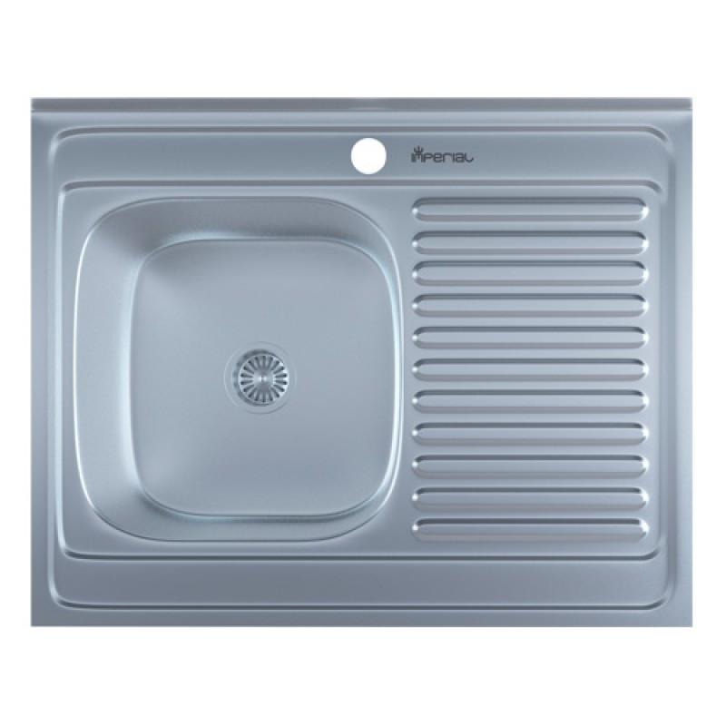 Кухонная мойка нержавейка Imperial 6080-L Satin