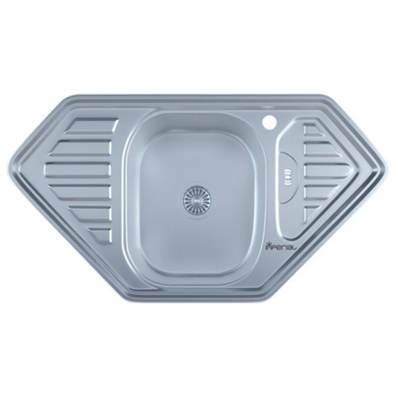 Кухонная мойка нержавейка Imperial 9550-D Satin