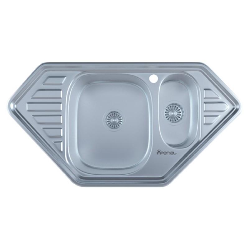Кухонная мойка нержавейка Imperial 9550-С Satin