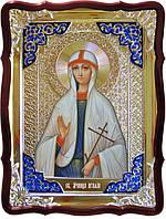 Икона святой Агафьи в ризе для храма
