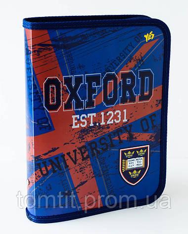 "Папка пластиковая для тетрадей  ""Oxford – Оксфорд"" на молнии, ТМ ""YES"", фото 2"