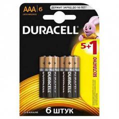 Батарейки Duracell AAA 2400 мАч (6 шт.)