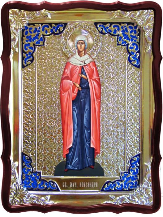 Икона в ризе - Святая мученица Александра в магазине церковной утвари