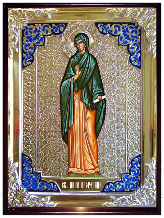 Икона в ризе - Святая мученица Анна Пророчица в православном магазине