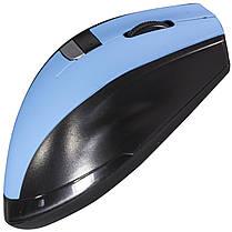 Мышь компьютерная Usb RAPOO 3200  беспроводная мышка для ноутбука синияя, фото 3