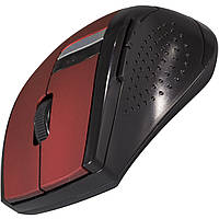 Мышь компьютерная беспроводная RAPOO 3200 usb мышка для ноутбука офиса красная