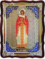Икона в ризе - Святая мученица Варвара заказать в церковной лавке