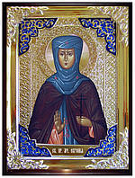 Икона в ризе - Святая мученица Евгения заказать в церковной лавке