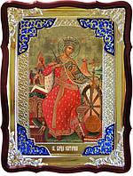 Икона в ризе - Святая мученица Екатерина в православном интернет магазине