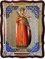 Икона в ризе - Святая мученица Екатерина в православном магазине