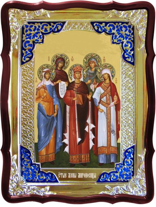 Икона в ризе - Святые Жены Мироносицы в магазине церковной утвари