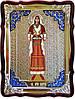 Икона в ризе - Святая мученица Злата ростовая в православном магазине