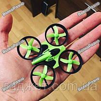 Квадрокоптер Eachine E010 Мини дрон. Квадрокоптер Eachine E010 зеленый, фото 2