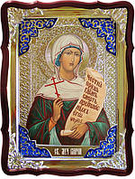 Икона в ризе - Святая мученица Илария в православном интернет магазине