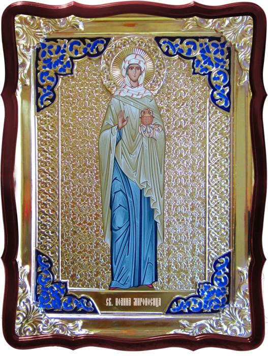 Икона в ризе - Святая мученица Иоанна мироносица заказать в церковной лавке