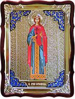 Икона в ризе - Святая мученица Ирина Коринфская ростовая в православном магазине
