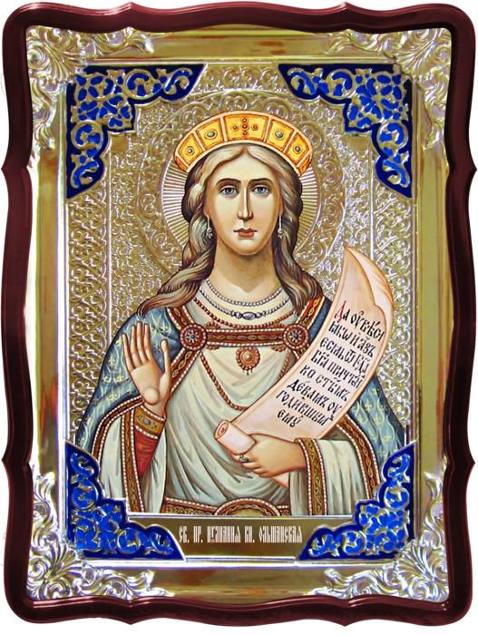 Икона в ризе - Святая мученица Иулианиа Ольшанская в магазине церковной утвари