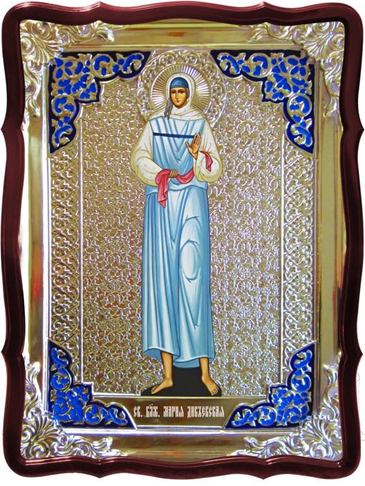 Икона в ризе - Святая мученица Мария дивеевская заказать в церковной лавке