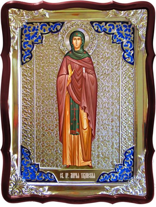 Икона в ризе - Святая мученица Мария хиданская в православном интернет магазине