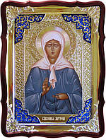 Икона в ризе - Святая мученица Матрона в православном магазине