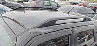 Рейлинги Nissan Juke (2010-) черные, сплошной алюминий Skyport