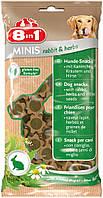 122760 8in1 Minis Кролик и Tравы с просом, 100 гр