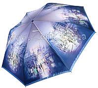 Увеличить изображение  Женский зонт Zest Туманный город САТИН ( полный автомат ) арт. 23744-7
