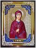 Икона в ризе - Святая мученица Фекла в православном магазине