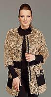 Пальто DiLiaFashion-0037 белорусский трикотаж