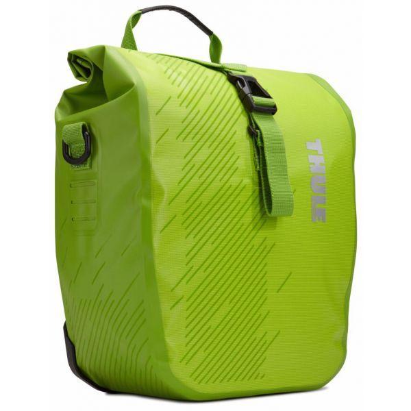 Сумка для велосипеда Thule Shield Pannier Small (pair) - Chartreuse