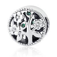 Серебряный шарм Пандора (Pandora) семейное древо