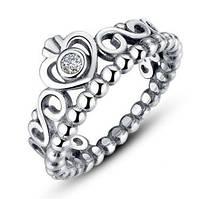 Кольцо из серебра Королева