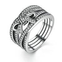 Кольцо из серебра светлые чувства