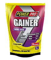 PowerPro Gainer, 1 кг - банан