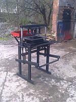 Мини-вибропресс по производству тротуарной плитки