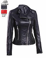 Курточка женская из кожзама