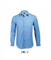 Приталенная рубашка Sols Broker