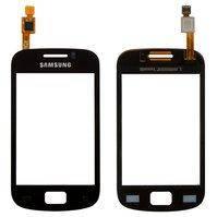 Сенсорный экран для Samsung S6500 Galaxy Mini 2, черный