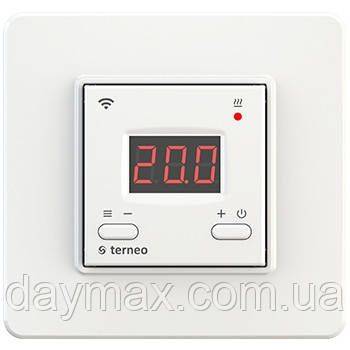 Wi-Fi терморегулятор Terneo ax (белый) - Интернет-магазин «DAYMAX» в Харькове