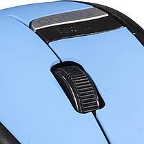 Игровая мышь RAPOO 3200 синяя беспроводная для компьютера ноутбука usb мышка чувствительная универсальная, фото 3