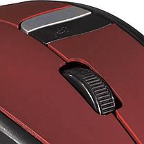 Мышь компьютерная беспроводная RAPOO 3200 красная usb мышка для ноутбука офиса игровая чувствительная, фото 2