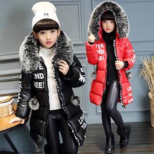 Курточка зимняя на девочку, фото 2