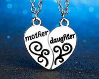 Кулоны двойные для Мамы и дочки