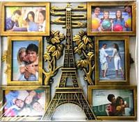 Фотоколлаж Париж (Эйфелева башня)