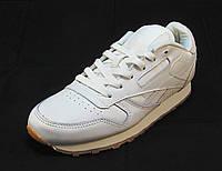 Кроссовки женские Reebok кожаные белые (р.36,37)